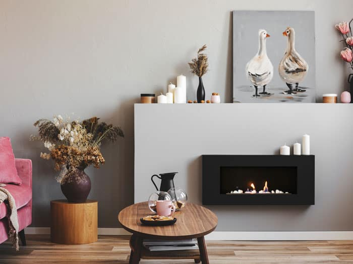 Best Wall Mount Electric Fireplaces, Flat Wall Fireplace