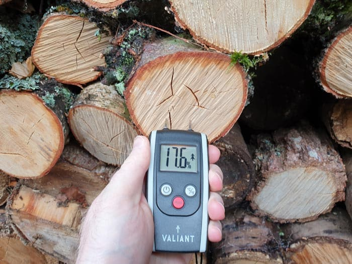 Dry Firewood Moisture