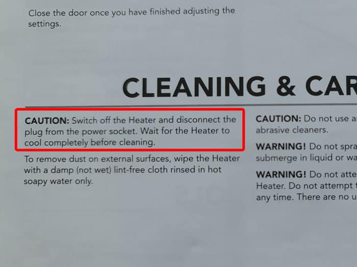 Electric Fireplace Cleaning