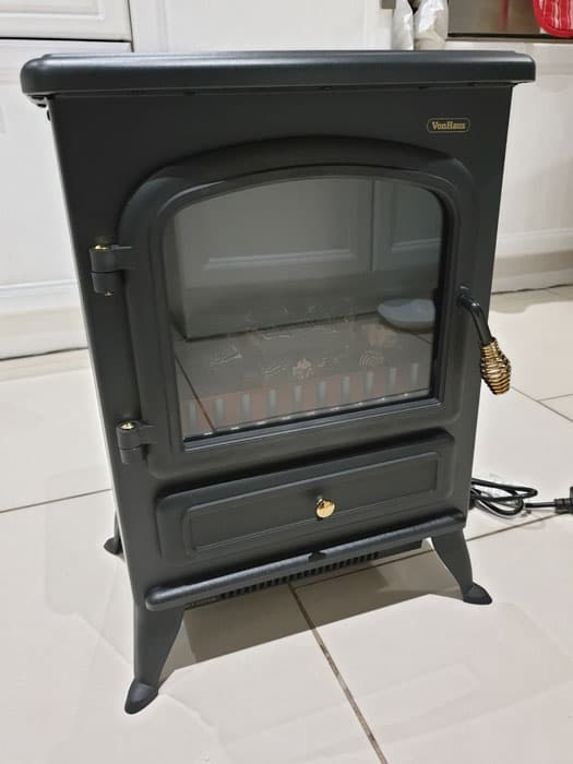 Electric Fireplace Upright