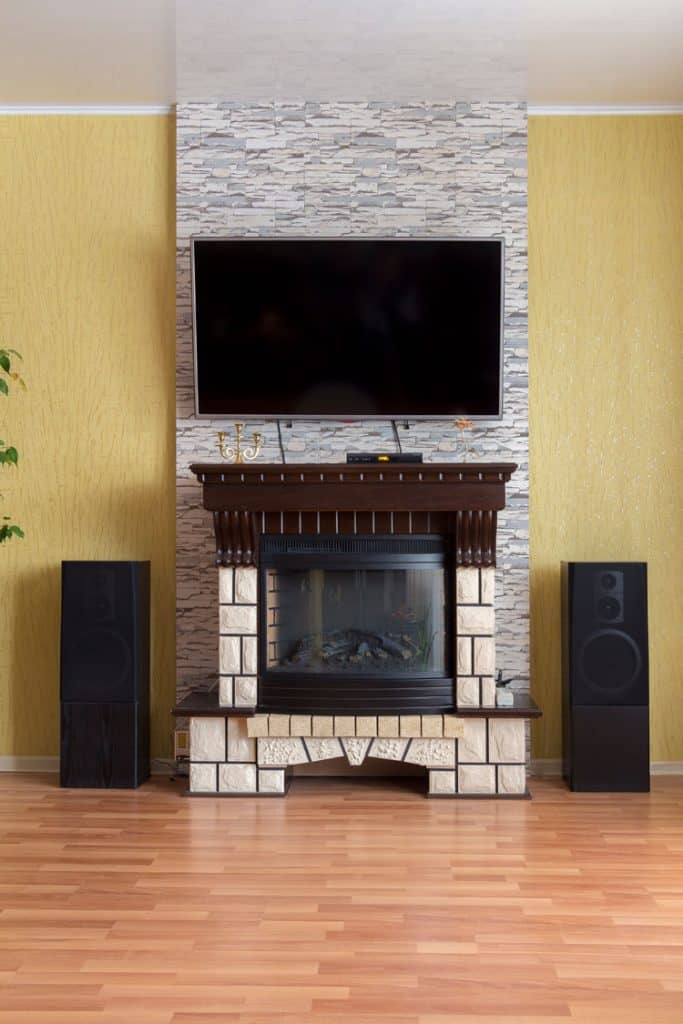 Fireplace Ideas With TV Above