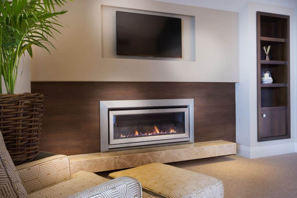 Putting An Electric Fireplace And Tv On The Same Wall