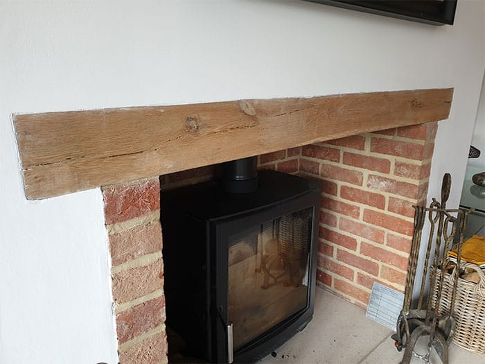 Fireplace Timber Lintel