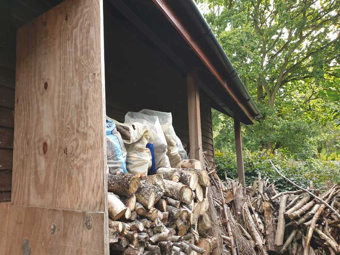 Firewood Covered