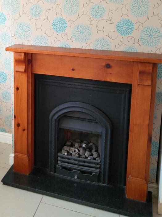 Gas Fireplace Insert With Surround