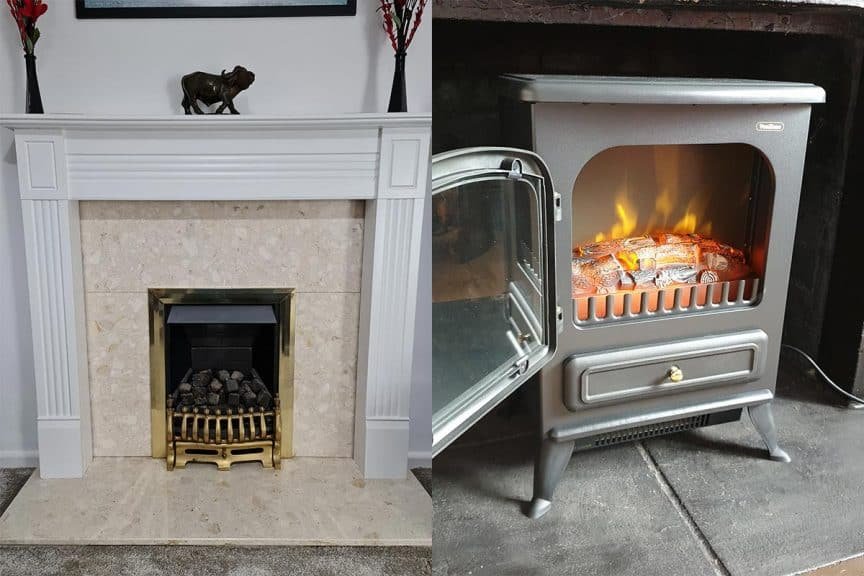 Gas Vs Electric Fireplaces