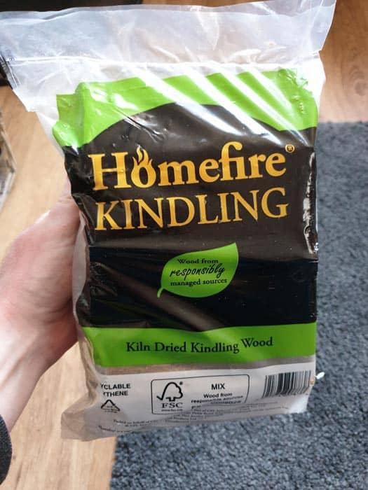 Kiln Dried Kindling Bag