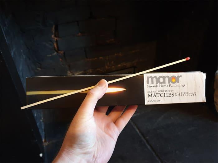 Fireplace Long Matches