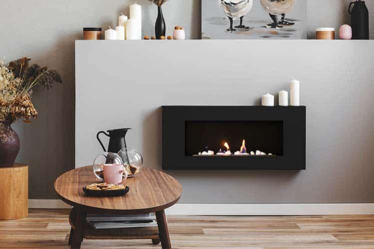Wall Mounted Modern Electric Fireplace