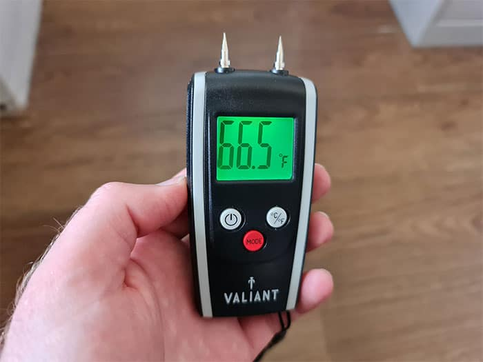 Moisture Meter Room Temperature