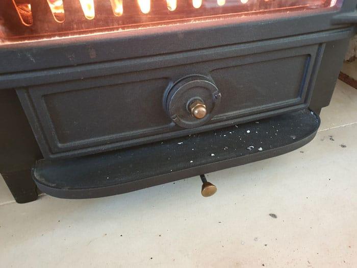 Multi Fuel Stove Vents Closed Down