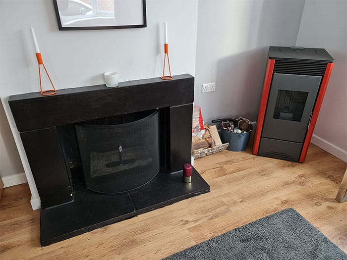 Pellet Stove With Electrical Outlet