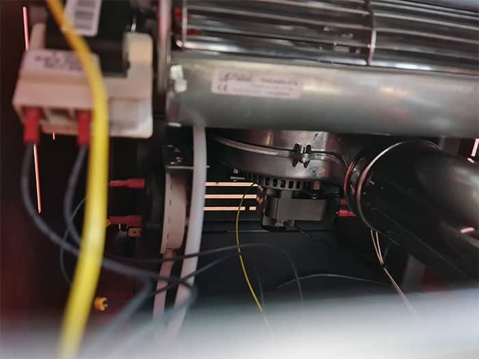 Pellet Stove Fume Extractor