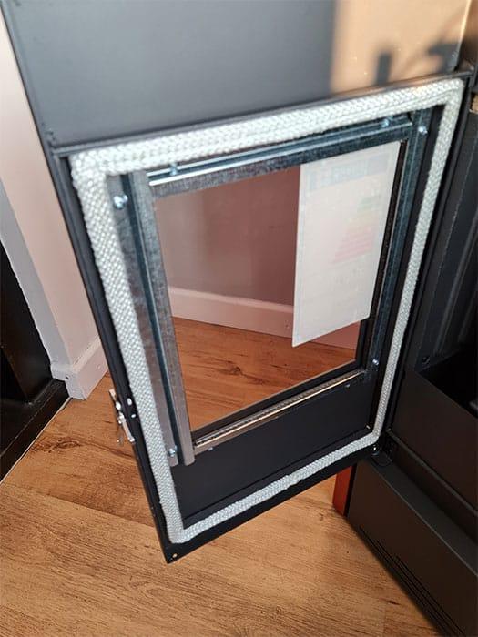 Pellet Stove Glass Door