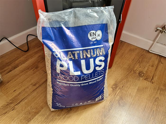 Bag Of Wood Pellets