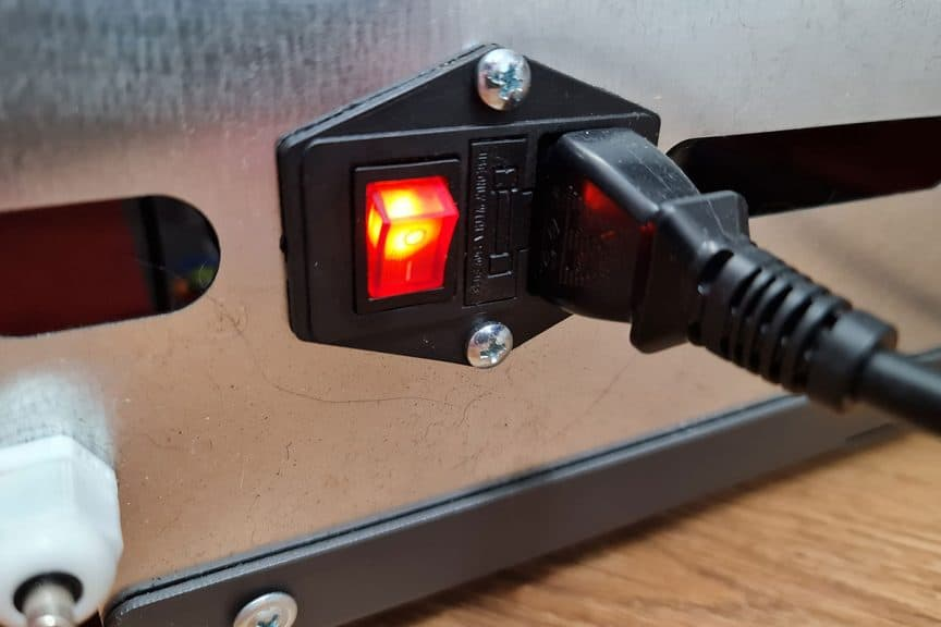 Power Stove Power Switch
