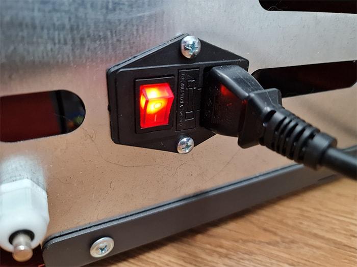 Pellet Stove Power Switch