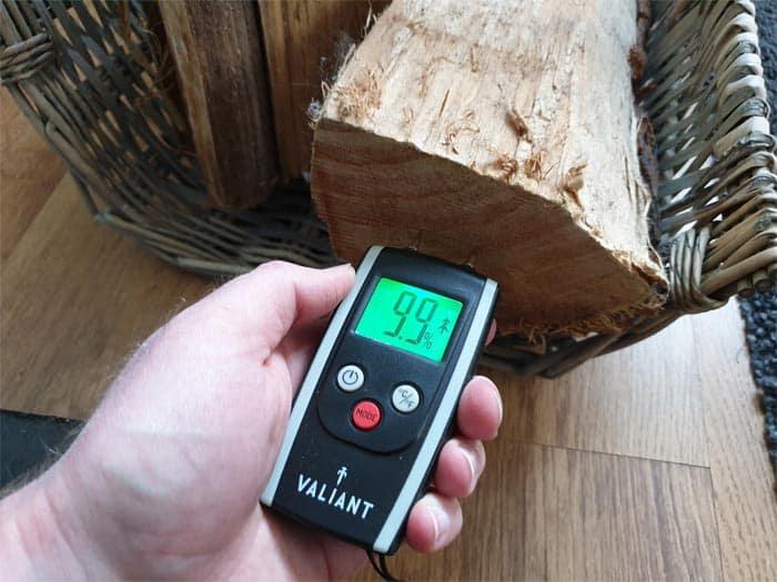 Moisture Firewood