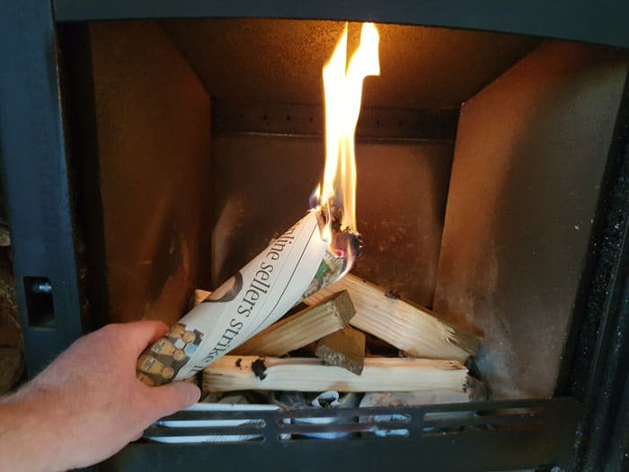 How To Warm The Flue Of A Wood Burning Stove Fireplace Universe