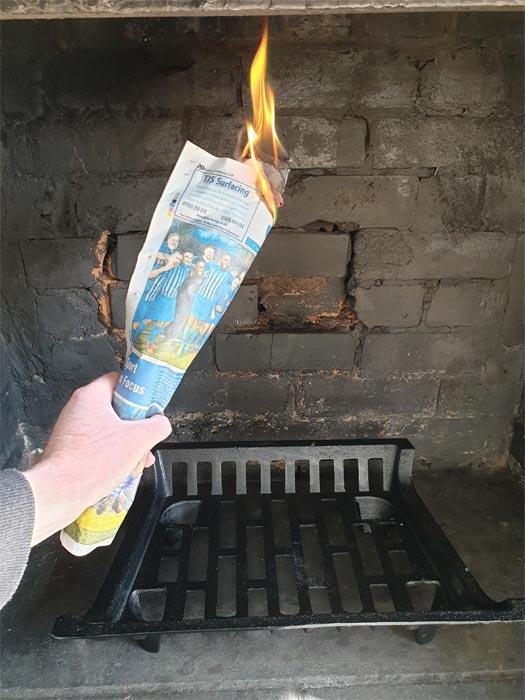 Warm Chimney Priming