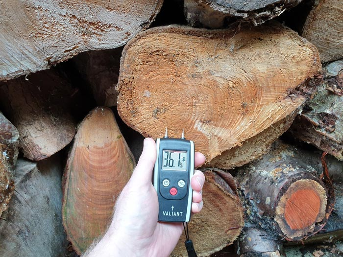 Wet Firewood