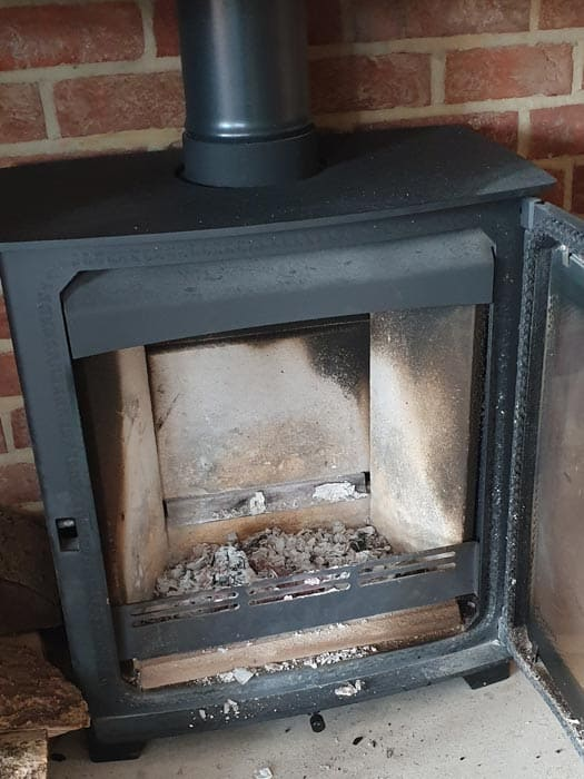 Wood Burning Stove Firebox